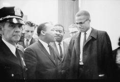 MLK Jr & Malcom X