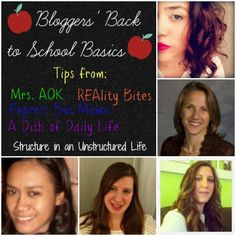 Bloggers' Back to School Basics