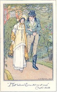 "British Reproduction of 1898 C.E. Brock illustration of ""Emma"""