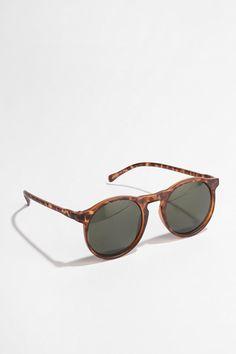 UO Matte Round Sunglasses