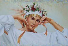 "Fine Art and You: Artista-Canadiense ""Ginette Beaulieu"" 1954"