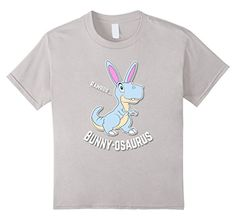 Kids Easter Bunny-osaurus Shirts Gifts ideas for toddlers  Kids Boys Girls dinosaurs T-rex