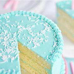 Classic Vanilla Butter Birthday Cake | TheBestDessertRecipes.com
