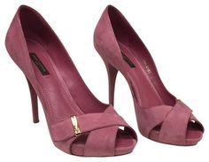 Louis Vuitton Pink Sandals