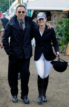 Jessica Springsteen Photo Bruce Springsteen And His Daughter At The Royal Windsor Horse Show Bruce
