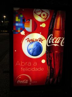 Rock in Rio Coca-Cola Fast Campaign Rio de Janeiro July 2011