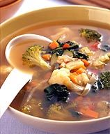 Fresh Veggie Soup... 0 Points Soup - For Weight Lose, eat before lunch and before your dinner!