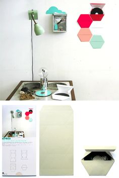 diy cd case / wall art (download for free!) | the style files