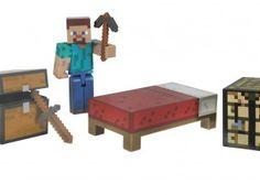 Minecraft Steve Survival Pack Action Figure