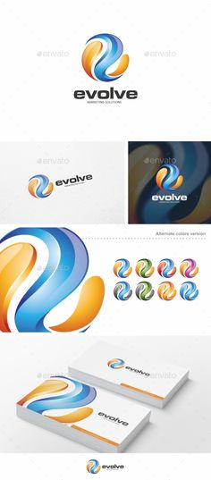 Evolve  - Logo Design Template Vector #logotype Download it here: http://graphicriver.net/item/evolve-logo-template/10251096?s_rank=770?ref=nesto