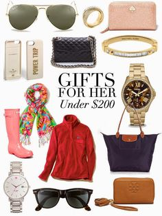 Gifts for Her Under $200