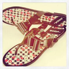 Cherry Bomb Sandals - MyHotShoes.com