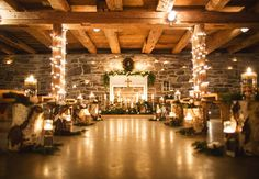A Cozy (And Glitzy!) Winter Wedding | TheKnot.com