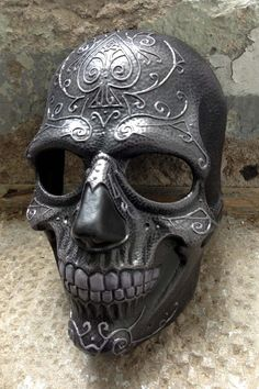 Unique Ace of Spade Death Mask by Piratemask on Etsy
