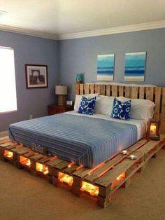 Una base de cama un poco fuera de lo común