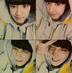 EXO Chanyeol Cute 4-Cut Selfie For The Release Of 'EXO-L' http://www.kpopstarz.com/articles/102517/20140806/exo-chanyeol-cute-4-cut-selfie-for-the-release-of-exo-l.htm