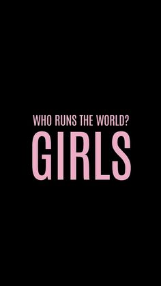 Girl, girl power, and beyoncé image wer regiert die welt, you go girl Power Wallpaper, World Wallpaper, Iphone Wallpaper, Waves Wallpaper, Cellphone Wallpaper, Wallpaper Quotes, Beyonce Images, Beyonce Quotes, Quotes Thoughts