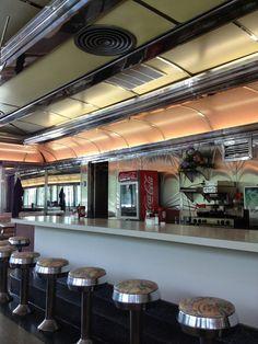 Counter, Key City Diner, Phillipsburg, NJ