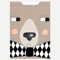 #Poster: Big bear (A3)  #seventytree #kidsroom #kinderkamer