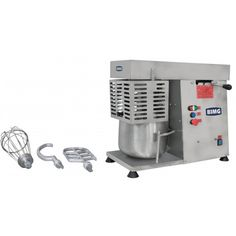 To Mix Several Types Of Dough For Bakery, Candy Shop And Others.   Height (mm): 600 Front (mm): 360 Depth (mm): 675 Weigth (kg): 40.600 Voltage (v):  110/220 Production (kg/h): 48 Capacity (kg): 12 Engine (hp): 1/2
