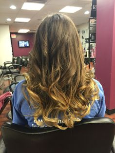 Ombre by Bonnie Paynter at labellavitaofde.com