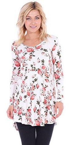 Tunic tops for women to wear with leggings in plus size and regular sizes - 70fe52429f6e