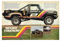 "1979 Ivan ""Ironman"" Stewart's Ford Off-Road Racing Truck Article"