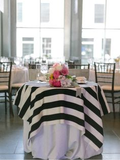 striped table topers