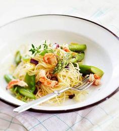 Parsaa, jättikatkarapuja ja spagettia   Soppa365
