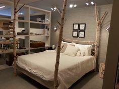 arredo camera da letto interior design stile nature