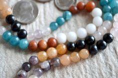 8mm 9 Planets Navratan Chakra Prayer Beads Mala Necklace Ble | eBay