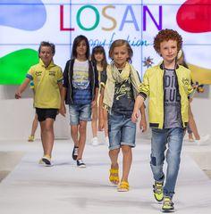 83ª edición de FIMI - Feria Internacional Moda Infantil - moda primavera verano 2017. Losan