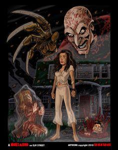 ✯ A Nightmare on Elm Street .. by *BryanBaugh*✯