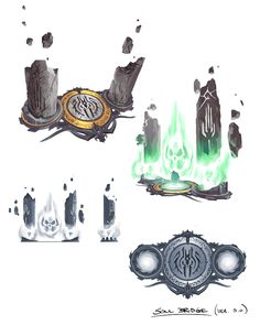 Darksiders concept art by Paul Richards (17)