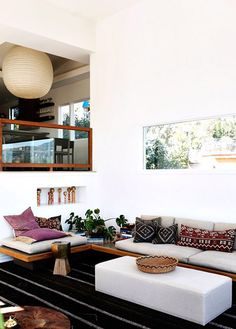 This space = my Colombian heritage + love of modern arch Via SFGirlbybay, photo by Genevive