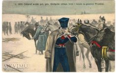 Duże zdjęcie Rok 1831, przekroczenie granicy pruskiej...