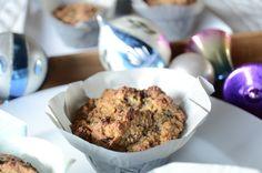Cherry Chocolate Banana Muffins ~ Gluten Free, Dairy Free, Grain Free