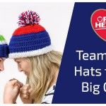 Team Color Hats for the Big Game | Red Heart Blog