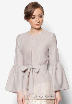 Muslim Fashion, Modest Fashion, Hijab Fashion, Fashion Dresses, Moda Casual, Casual Chic, Blouse Styles, Blouse Designs, Kebaya Dress