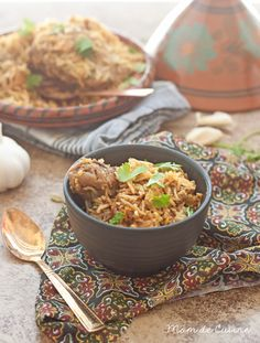 Chicken Biryani: a spicy rice dish with tons of flavor!