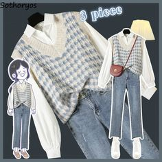 Girls Fashion Clothes, Teen Fashion Outfits, Retro Outfits, Cute Casual Outfits, Vintage Outfits, Indie Outfits, Edgy Outfits, Korean Girl Fashion, Korean Fashion Trends