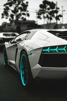Lamborghini Teal