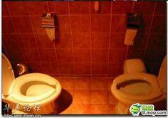 facing bathroom
