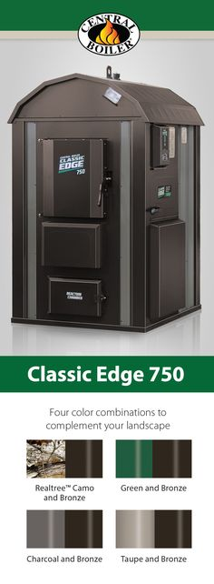 Classic Edge HDX outdoor wood furnaces from Central Boiler are easy to operate and burn less wood than other methods of wood heat. Outdoor Wood Furnace, Boiler, Locker Storage, Choices, Classic, Home, Ideas, Derby, Ad Home