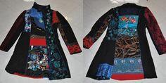 Cappotto invernale colorato  indossato una sola volta  tg M  €50,00
