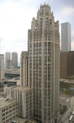 probably my favorite. the tribune tower, chicago.