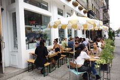 The Butcher's Daughter - kid-friendly cafes, Nolita, New York via brunchwithmybaby.com
