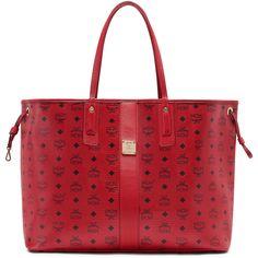20d4d561c Shop for MCM Liz Reversible Large Ruby Red Tote Bag. Get free delivery at  Overstock - Your Online Designer Store Shop!
