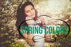 Spring Colors Lightroom Preset by Aesthetic Art & Design on Creative Market