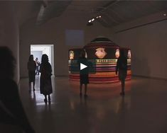 2002 This is the tent and video installation touring with the exhibition Material World: 25 years of the Fabric Workshop and Museum. Installation view at the Museum… Circus Art, Material World, Alexander Calder, Video Installation, Historical Fiction, Touring, Tent, Workshop, Museum